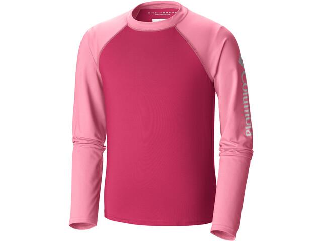 Columbia Mini Breaker Lapset Pitkähihainen paita , vaaleanpunainen